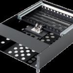回転型LCD引出ユニット